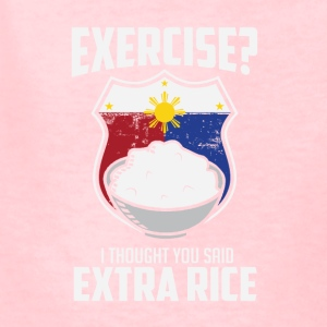 Exercise I Thought You Said Extra Rice Philippines - Kids' T-Shirt