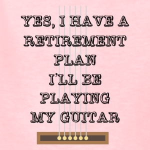 Guitar Retirement Plan Funny Tee Shirt - Kids' T-Shirt