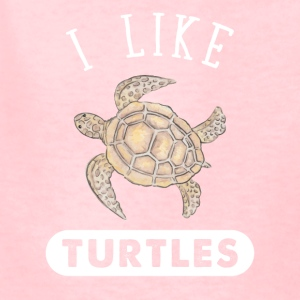 I like turtles - Kids' T-Shirt