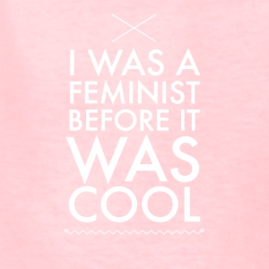 I was a feminist before it was cool - Kids' T-Shirt