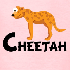 Cartoon Cheetah - Kids' T-Shirt