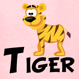 Cartoon Tiger - Kids' T-Shirt