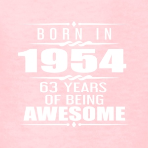 Born in 1954 63 Years of Being Awesome - Kids' T-Shirt