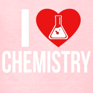 I LOVE CHEMISTRY WHITE - Kids' T-Shirt