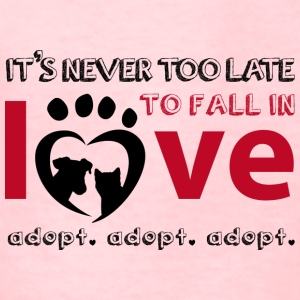 it's never too late for pet adoption - Kids' T-Shirt