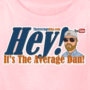 Hey Its The Average Dan Logo - Kids' T-Shirt