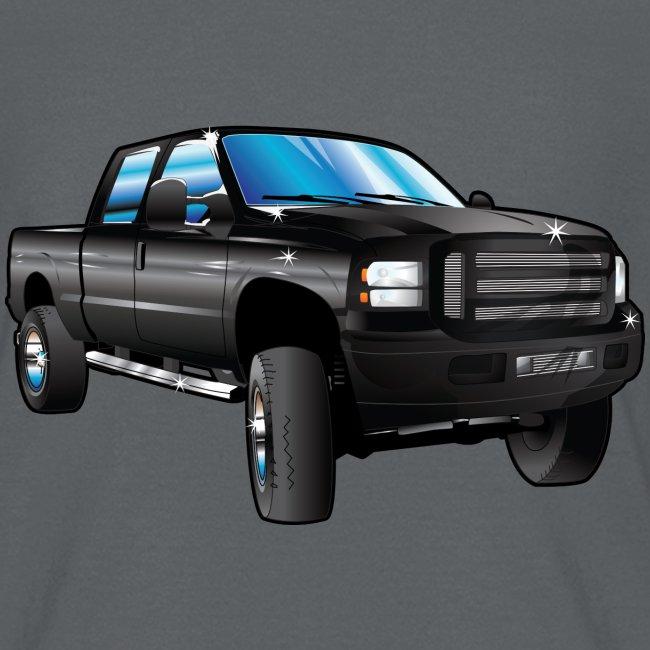 Black Ford Truck F250