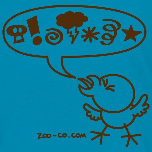 Eggplant Rude Chicken T-Shirts - Kids' T-Shirt
