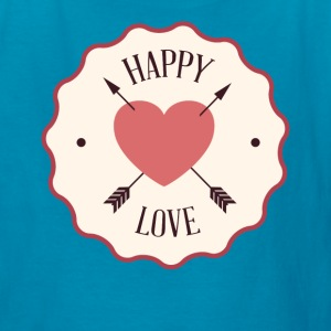 Happy Valentine's Day with Love - Kids' T-Shirt