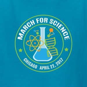 March for Science Chicago 2017 - Kids' T-Shirt