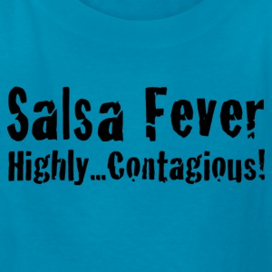 Salsa Fever Highly Contagious! - Kids' T-Shirt