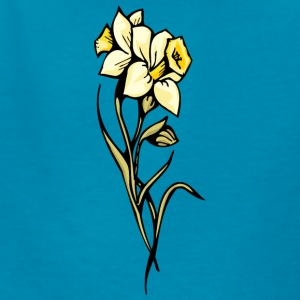 double_yellow_flowers - Kids' T-Shirt