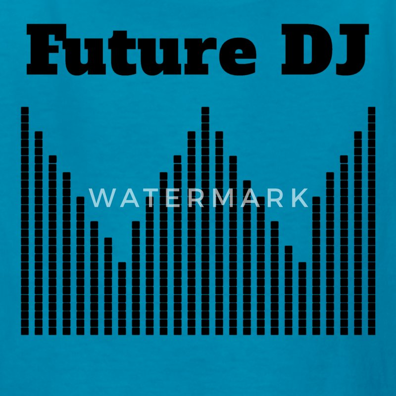 Future DJ - Kids' T-Shirt