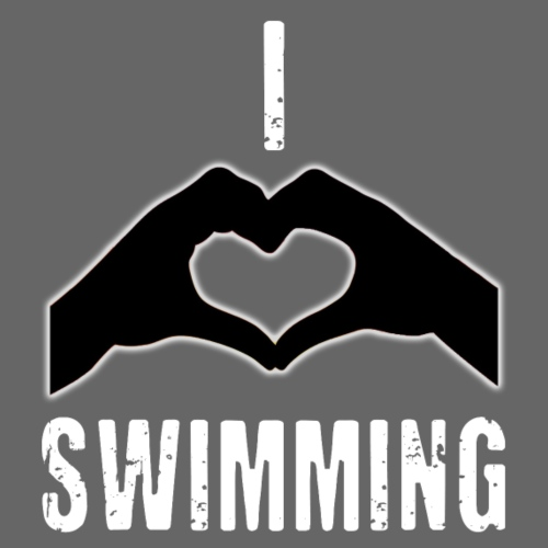 I heart swimming - Kids' T-Shirt