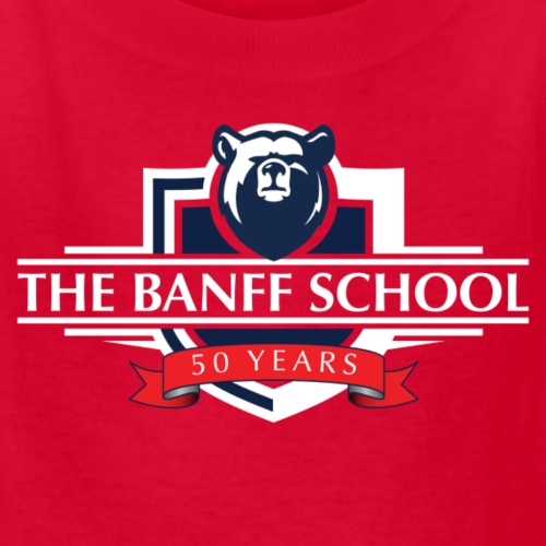 50th Anniversary Crest - Red - Kids' T-Shirt