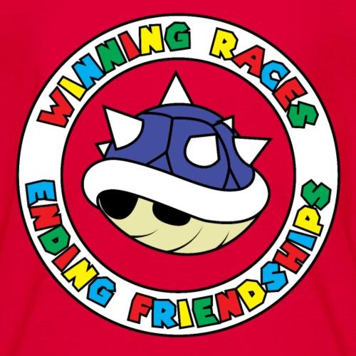 Friendships Ruined - Blue Shell - Kids' T-Shirt