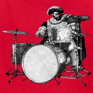 Henry the Eighth Drums - Kids' T-Shirt