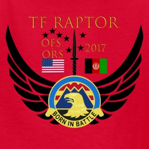 Task Force Raptor Deployment Crest - Kids' T-Shirt