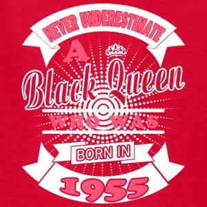 Black Queens Born in 1955 - Kids' T-Shirt