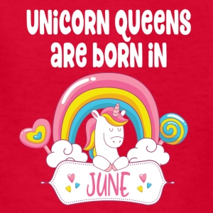 Unicorn Queens are born in June - Kids' T-Shirt