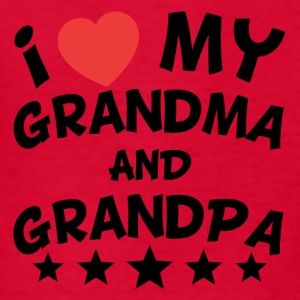 I Heart My Grandma And Grandpa - Kids' T-Shirt