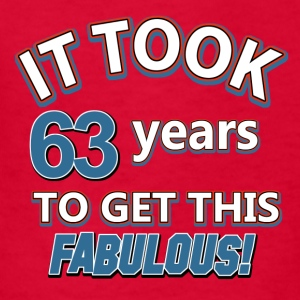 63rd birthday design - Kids' T-Shirt