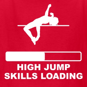 High Jump Skills Loading - Kids' T-Shirt
