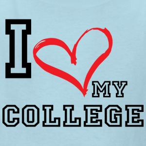I_LOVE_MY_COLLEGE - Kids' T-Shirt
