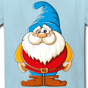Cartoons-funny-Gnome - Kids' T-Shirt