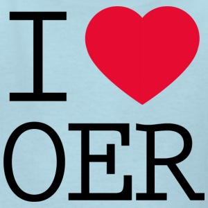 I love OER - Kids' T-Shirt