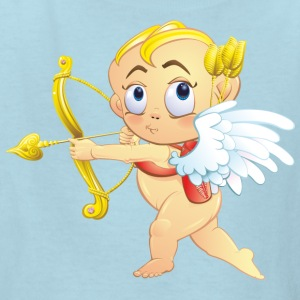 cupid-heart-onion-smile-bow-wings - Kids' T-Shirt