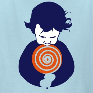 Lollipop Boy - Kids' T-Shirt