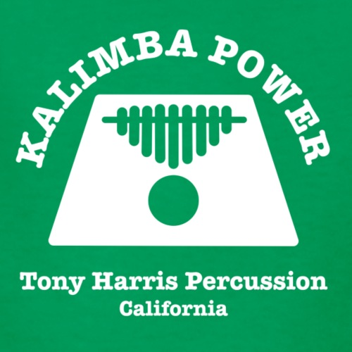 Kalimba Power Tony Harris Percussion w - Kids' T-Shirt