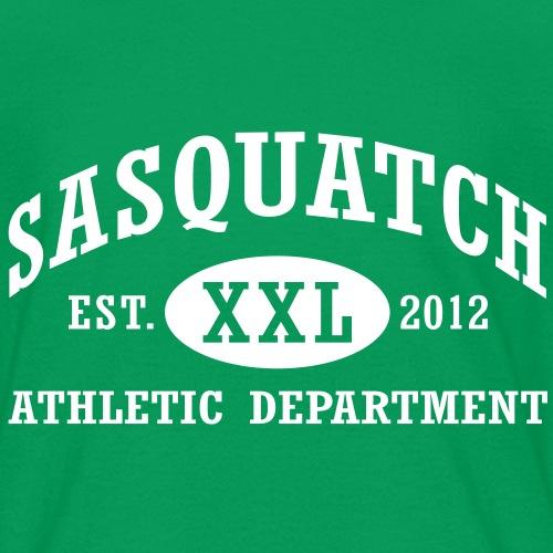 Sasquatch XXL Athletic Department Shirt - Kids' T-Shirt