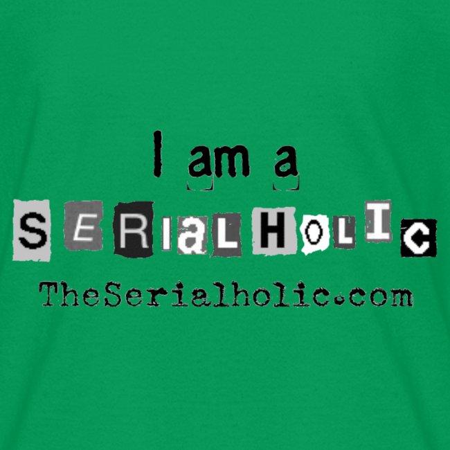 Black Serialholic Logo