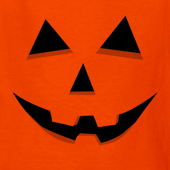 Jack O/' Lantern Cute Smiling Pumpkin Halloween Youth Kids Long Sleeve T-Shirt