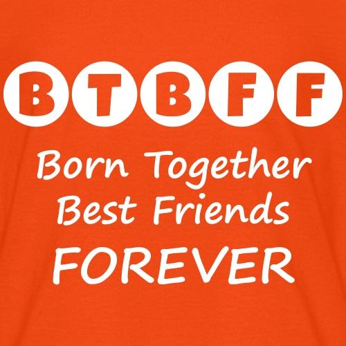 BTBFF white - Kids' T-Shirt