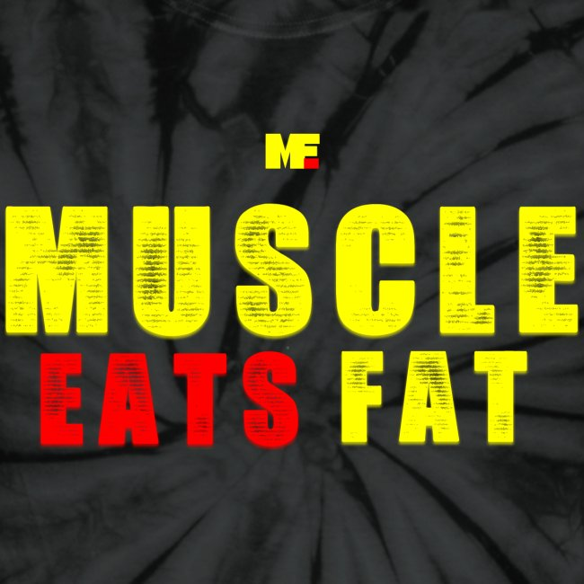 Muscle Eats Fat Yellow Red Edition