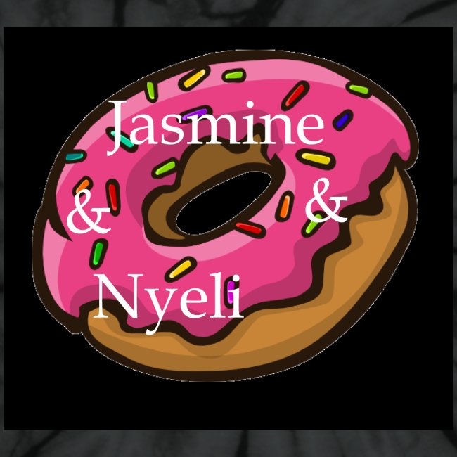 Black Donut W/ Our Channel Name