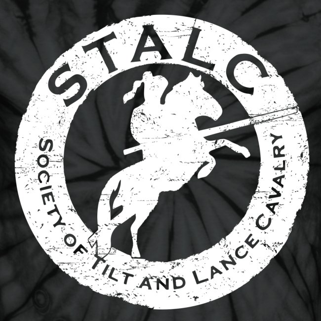STALC Retro Logo WHITE