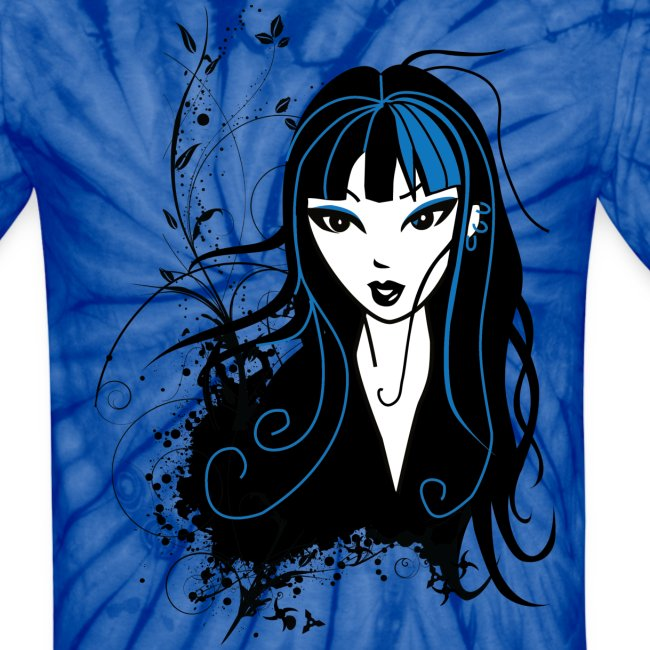 Sexy Mika the Punk Girl Unisex T-Shirt