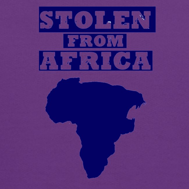 STOLEN FROM AFRICA BLUE