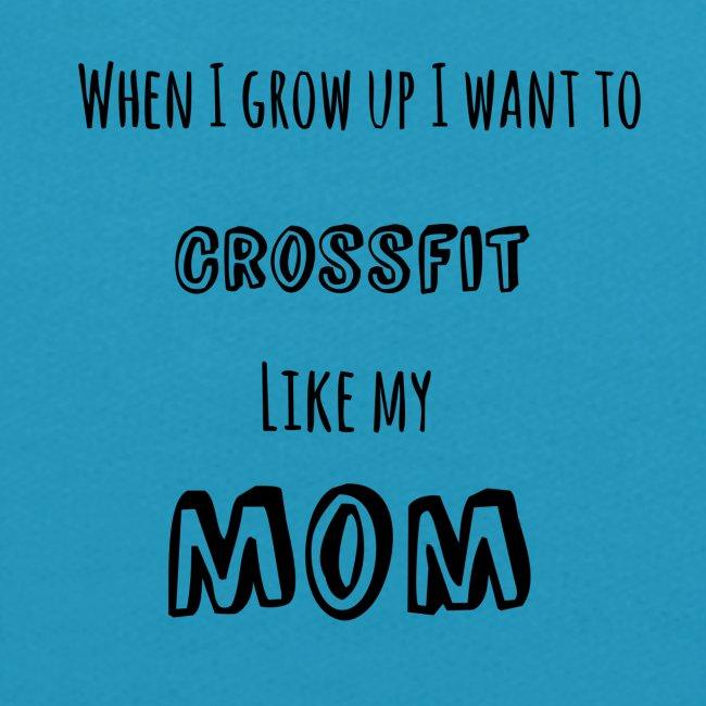 crossfit like mom (black)