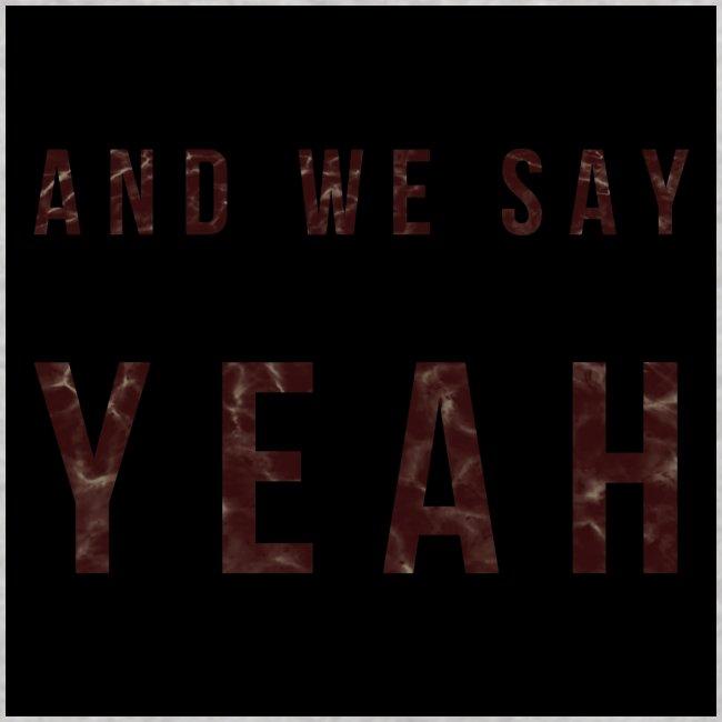 """""""Yeah"""" Lyric"""