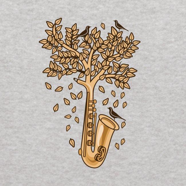 Saxophone Tree of Song Birds