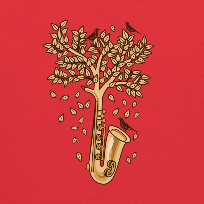 Saxophone Tree of Song Birds