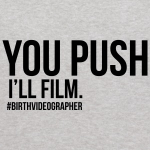 you push I'll film - Kids' Hoodie