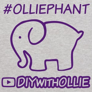 #Olliephant Hashtag with Logo - Kids' Hoodie