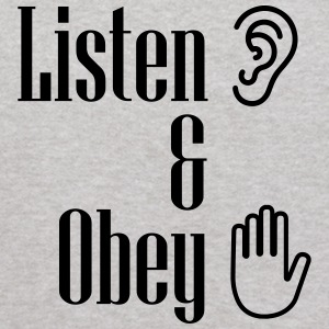 Listen and obey - Kids' Hoodie
