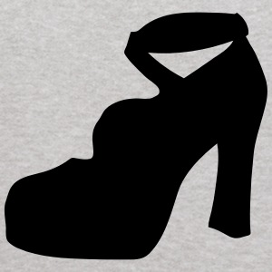Vector high heels shoes Silhouette - Kids' Hoodie